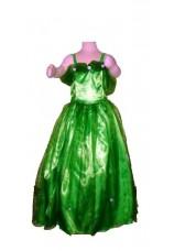 princesse verte tailles de 6 à 10 ans