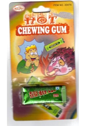 Chewing gum piquant