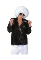 Chemise disco à paillettes taille 46 à 56