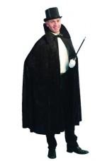 cape noire avec col