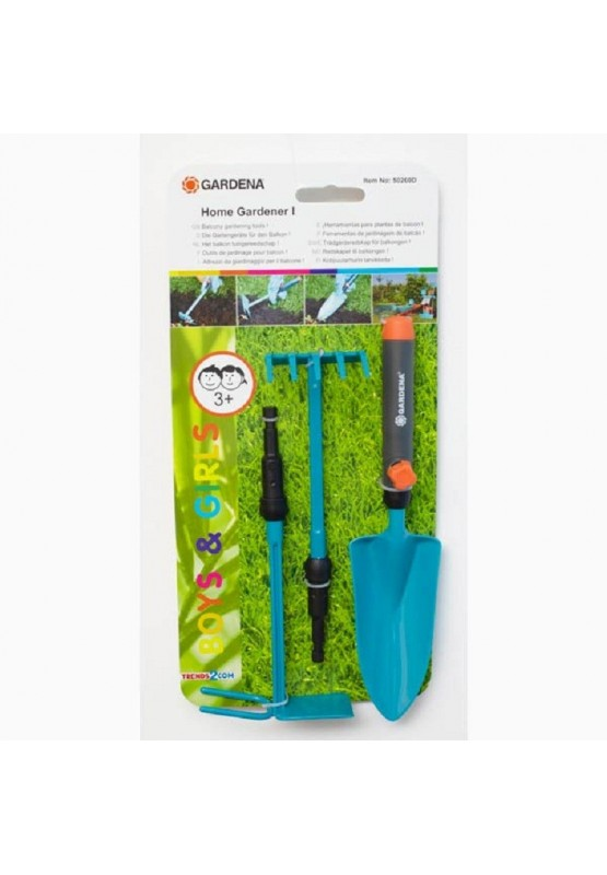 Gardena set de jardinage 4 pi ces boutchic for Set jardinage enfant