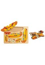 puzzle avion 3D Nathan en bois