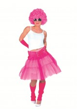 Juppe disco - fluo rose
