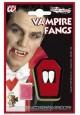 Dents de dracula vampire à coller sur les canines