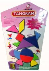 Tangram en foam + livret