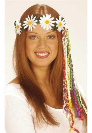 Couronne de fleurs hippie