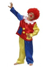 Clown satin 2 pièces