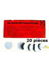 Fumigène blanc pastille 1 minute 20 pieces