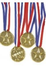 Médailles 4X