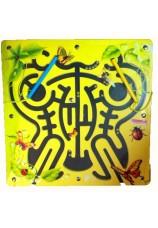 Labyrinthe aimanté insectes
