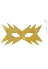 Masque étoile doré