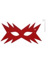 Masque étoile rouge