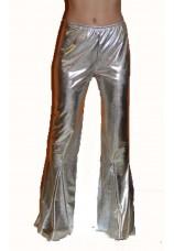Pantalon disco argenté