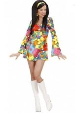 costume hippie power flower