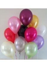 10 ballons 36cm métallisés