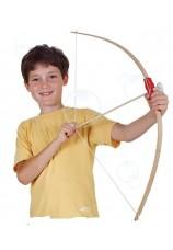 Arc à flèche en bois + 2 flèches