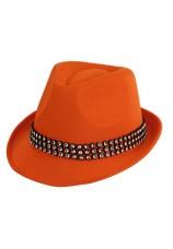 chapeau neon orange