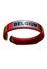 Bracelet Belgique rouge