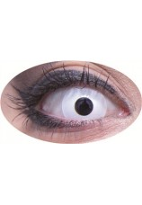 Oeil blanc- paire de lentilles 12 mois