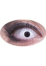 oeil blanc- lentilles 6 mois