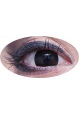 oeil noir- lentilles 6 mois