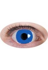 oeil bleu- lentilles 6 mois
