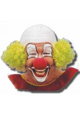 Crane de clown avec cheveux
