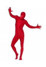 Seconde peau-Kolalapo-morphsuit rouge