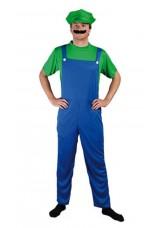 Luigi costume complet de plombier