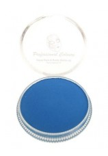 Maquillage aqua 30g bleu néon-fluo