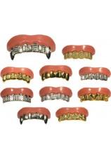 Dents dorées ou argentées