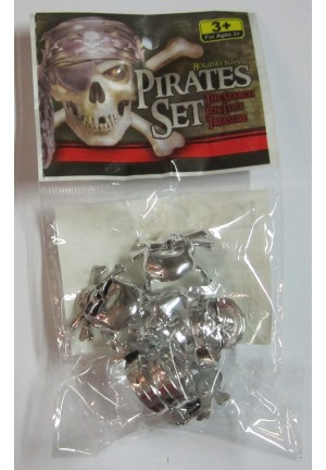 Bagues de pirate x6