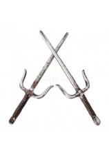 Epées Sai de ninja - 2 pièces