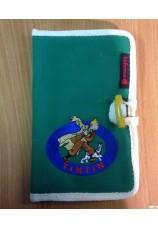 Tintin aventure pochette lafuma verte