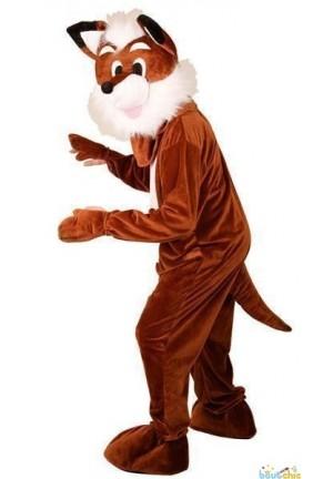 Costume complet de renard en peluche
