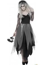 Mariée zombie gothique
