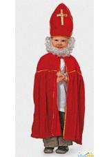 Mitre et cape de Saint-Nicolas pour enfant