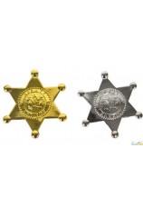 Etoile de sherif en metal