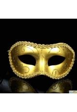 Masque venitien homme/femme argenté