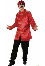 Veste sergent pepper beatles rouge
