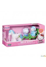 Hello kitty licorne et carosse