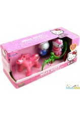 Hello kitty dragon et carosse