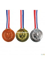 Médailles or argent et bronze