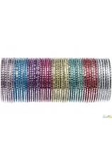 Bracelets en métal par 3