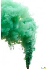 Torche fumigène vert