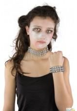 Collier et bracelet punk