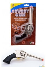 Pistolet en metal de cow boy