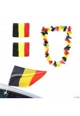 Kit de supporter belgique 4 pièces