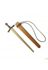 Epée en bois avec fourreau