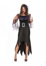 Femme araignée violette